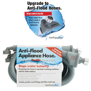 Dual Anti-Flood Appliance Hose