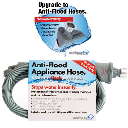 Single Anti-Flood Appliance Hose