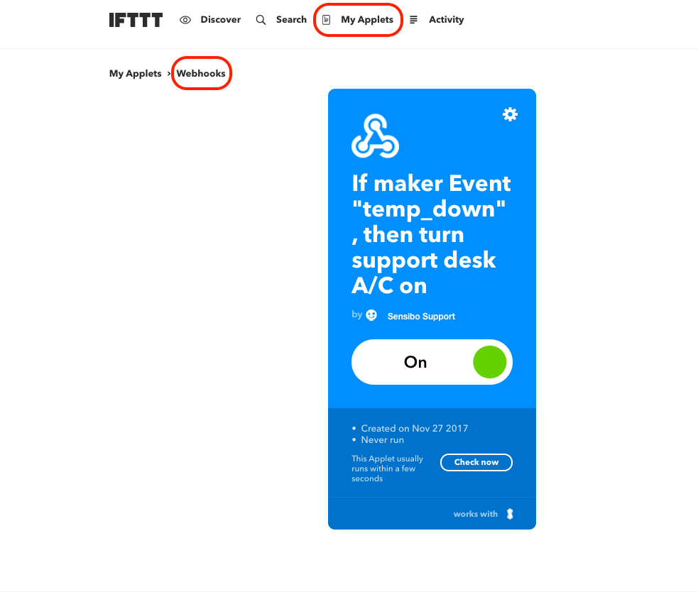 How To Set IFTTT triggers using Climate React - Sensibo New Zealand