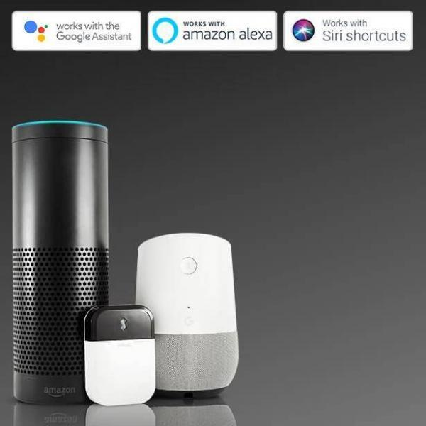 Sensibo Australia Sensibo White voice assistants with google amazon apple mobile white